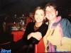 Caterina Ruggeri et l'arbitre-assistant Carlo Pegoraro en marge d'un tournage de Jeux sans frontières 1996 à Stupinigi (Italie)