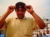 Francesco Vicario, l'un des réalisateurs des Jeux sans frontières 1996 à Stupinigi (Italie)