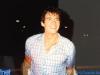 Olivier Minne après le tournage de la finale de Jeux sans frontières 1997 à Lisbonne (Portugal)
