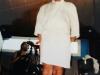 Olivier Minne sur le tournage de la finale de Jeux sans frontières 1997 à Lisbonne (Portugal)