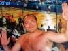 Le producteur français sur le tournage de la finale de Jeux sans frontières 1997 à Lisbonne (Portugal)