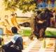 """Jeu du taureau (""""Jeux sans frontières"""" 1989 à Tomar, Portugal)"""