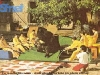 """L'équipe de Rochefort (Belgique) au jeu du taureau (""""Jeux sans frontières"""" 1989 à Tomar)"""