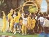 """L'équipe de Rochefort (Belgique) aux """"Jeux sans frontières"""" 1989 à Tomar (Portugal)"""