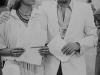 """Ettore Andenna et Milly Carlucci présentent """"Jeux sans frontières"""" 1978 à Verbania (Italie)"""