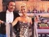 Ettore Andenna et Maria Teresa Ruta présentent Jeux sans frontières 1993 à la Villa Manin de Passariano (Italie)