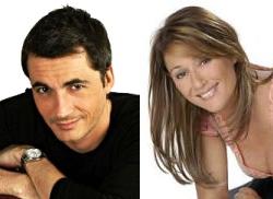 Olivier Minne et Daniela Lumbroso