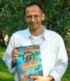 "Gianni Magrin, auteur du livre ""Trent'anni di Giochi"""