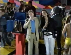 Claudio Lippi et Feliciana Iaccio à Bergame (1990)