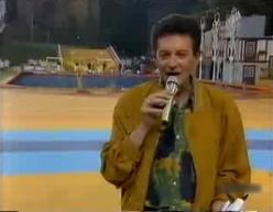 Eladio Climaco à Guimaraes (Portugal) en 1990.