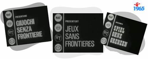 """Images du premier générique de """"Jeux sans frontières"""""""