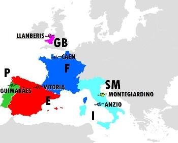 Les villes en compétition (JSf 1991, Llanberis, 31 juillet)
