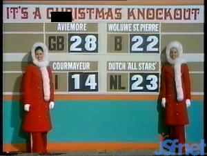 Jeux de Noël 1974 : le résultat
