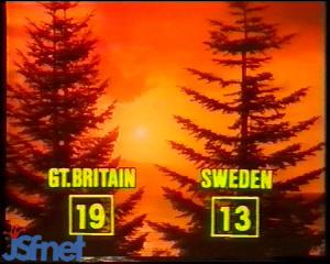Jeux de Noël 1983 : le résultat