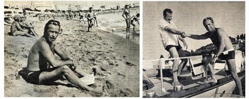 """Eté 1968. Vacances forcées pour Guy Lux, privé de """"Jeux""""."""
