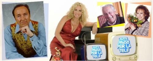 """""""Tutti pazzi per la tele"""" mardi 29 septembre sur RAI UNO."""